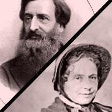 Resultado de imagem para William Booth e sua esposa Catherine Mumford